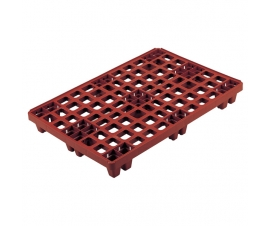 3E003 Plastic Packpal Ventilated Deck Pallet 1200 x 800 Nesting