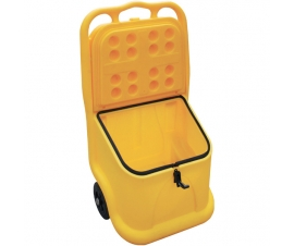 Unikart with seal and lock makes a perfect Grit Bins