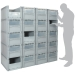 Basicline Euro Container Pick Wall (600 x 400 x 320mm DxWxH Bins) Short Side Pick Opening with Window