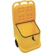 UniKart Plastic Storage and Dispensing Grit Bin Trolley (Ref: WJ75P-CO) 75 Litre