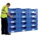 Large Euro Container Pick Walls (600mm Deep) Long Side Pick Opening - 3 Sizes