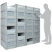 Basicline Euro Container Pick Wall (600 x 400 x 270mm DxWxH Bins) Short Side Pick Opening with Window